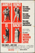 """Movie Posters:James Bond, From Russia with Love (United Artists, 1964). One Sheet (27"""" X 41"""")Style B. James Bond.. ..."""