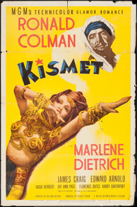 "Kismet (MGM, 1944). One Sheet (27"" X 41"") Style D. Fantasy"
