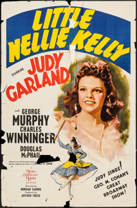 "Little Nellie Kelly (MGM, 1940). One Sheet (27"" X 41"") Style C. Musical"