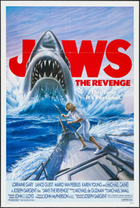 """Jaws: The Revenge & Other Lot (Universal, 1987). One Sheets (2) (27"""" X 41""""). Thriller. ... (Total: 2 I..."""