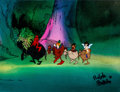 Animation Art:Production Cel, Wizards Peace, Avatar, Elinore, and Weehawk Production Cel(Ralph Bakshi, 1977). ...