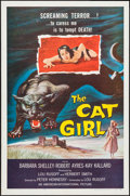"""Movie Posters:Horror, The Cat Girl (American International, 1957). One Sheet (27"""" X 41"""").Horror.. ..."""