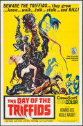 "Movie Posters:Science Fiction, The Day of the Triffids (Allied Artists, 1962). One Sheet (27"" X41""). Science Fiction.. ..."