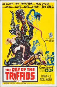 "The Day of the Triffids (Allied Artists, 1962). One Sheet (27"" X 41""). Science Fiction"