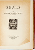 Books:Reference & Bibliography, Walter de Gray Birch. Seals. London: Methuen and Co.,[1907]. . ...