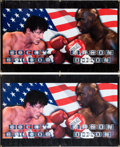 "Movie/TV Memorabilia:Props, A Pair of Banners from ""Rocky Balboa"" (aka ""Rocky VI"")... (Total: 2Items)"