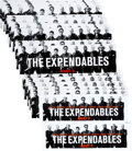 "Movie/TV Memorabilia:Posters, The Expendables (Lionsgate, 2010). Bus Stop Bench Posters Lot of 27(24 at 14"" X 47"", 2 at 14.75"" X 44"", 1 at 14"" X 47"")...."