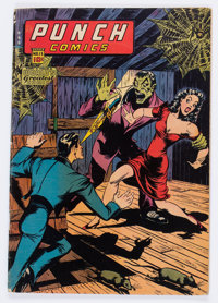 Punch Comics #15 (Chesler, 1945) Condition: VG+