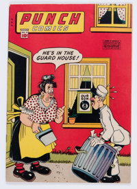Punch Comics #16 (Chesler, 1946) Condition: FN+