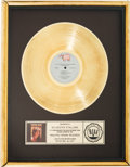 "Movie/TV Memorabilia:Awards, An RIAA Gold Record Award for ""Staying Alive.""..."