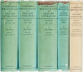 Books:Reference & Bibliography, [English Literature]. F. W. Bateson. The Cambridge Bibliographyof English Literature, Vols. I - V. Cam... (Total: 5Items)