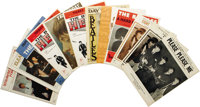 "Beatles Sheet Music Group of 12 (1964-67). Twelve by the Fab Four in terrific condition, including ""Please Please M..."