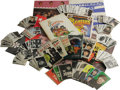 """Music Memorabilia:Memorabilia, Beatles Books, Posters, and Trading Cards Group. This massive stack of Beatlemania features a 72"""" x 19"""" color banner poste..."""