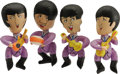 "Music Memorabilia:Memorabilia, Complete Set of Inflatable Beatles. A set of four 13"" inflatable dolls, one for each member of the Fab Four, made by NEMS, ..."