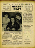 """Music Memorabilia:Memorabilia, A Great Copy of """"Mersey Beat"""" #1. Founded in 1961 by Bill Harry, one of John Lennon's classmates at Liverpool Art College, ..."""