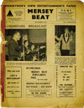 "Music Memorabilia:Memorabilia, ""Mersey Beat"" #10. A copy of issue #10, cover dated November 16-30,1961, featuring a sample of a regular column on record ..."