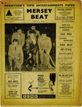 "Music Memorabilia:Memorabilia, ""Mersey Beat"" #18. This great copy of the March 22-April 5, 1962issue of ""Mersey Beat"" features a good sized spread on the..."