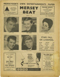 "Music Memorabilia:Memorabilia, ""Mersey Beat"" #19. A copy of the April 5-19 issue of thetabloid-sized paper that gave the Beatles much of their earlyexpo..."
