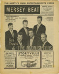 """Music Memorabilia:Memorabilia, """"Mersey Beat"""" #26. A copy of the July 12-26, 1962 issue of theinfluential music publication. The publication had grown cons..."""