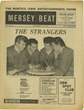 "Music Memorabilia:Memorabilia, ""Mersey Beat"" #30. A great copy of the September 6-20, 1962 edition of the music publication, featuring the first of a seri..."