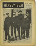 "Music Memorabilia:Memorabilia, ""Mersey Beat"" #33. A copy of the October 18-November 1, 1962 issue,featuring a brief mention and photo of the Beatles (wit..."