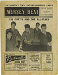 "Music Memorabilia:Memorabilia, ""Mersey Beat"" #34. A copy of the November 1-15, 1962 issue, featuring a center spread on Little Richard, one of the biggest..."