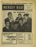 "Music Memorabilia:Memorabilia, ""Mersey Beat"" #35. The Highlights of this November 15-29, 1962issue include a short piece on original Beatles drummer Pete..."
