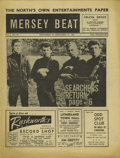 "Music Memorabilia:Memorabilia, ""Mersey Beat"" #36. A nice copy of the November 29-December 13, 1962issue, featuring the Searchers on the front page, in Fi..."