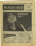 "Music Memorabilia:Memorabilia, ""Mersey Beat"" #38. This awesome copy of the January 3-17, 1963issue, features a full-page article covering a recording ses..."