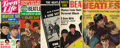 "Music Memorabilia:Memorabilia, Beatles Magazines. Seven assorted Beatles-themed magazines, including ""The Beatle Bulletin,"" Ringo's Photo Album,"" and ""Mee..."