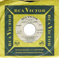 """Music Memorabilia:Recordings, Elvis Presley """"Easy Come, Easy Go"""" Promo EP RCA 4387 (1967). Thisis a white label promo copy of the six-track EP, and it's ..."""