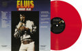 "Music Memorabilia:Recordings, Elvis Presley ""Moody Blue"" Red Vinyl Promo Stereo LP RCA 2428(1977). The album debuted on Billboard's charts just a month b..."