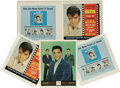 "Music Memorabilia:Posters, Elvis ""Tickle Me"" Art Slicks. Two sets of front and back cover artslicks for the 1965 EP, in Mint- condition. The record f..."
