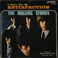 "Music Memorabilia:Recordings, Rolling Stones ""Satisfaction"" Rare 45 Picture Sleeve London 9766 (1965). One of the rarest sleeve is this one for the Ba..."
