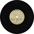"Music Memorabilia:Recordings, Rolling Stones ""We Were Falling In Love"" Unreleased 7"" AcetateEmidisc (1964). Here's an amazing find. On September 29, 1964..."