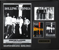 Music Memorabilia:Posters, Rolling Stones Oakland Coliseum Poster #BG201 with Flyers andSigned Photo (Bill Graham, 1969). The infamous Rolling Stones ...