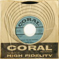"Music Memorabilia:Recordings, Buddy Holly ""Peggy Sue Got Married""/ ""Crying, Waiting, Hoping"" BlueLabel Promo 45 Coral 62134 (1959). If you miss out on th..."