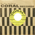 """Music Memorabilia:Recordings, Buddy Holly """"Brown-Eyed Handsome Man""""/ """"Wishing"""" Yellow Label Promo45 Coral 62369 (1963). As Coral continued to release new..."""