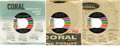 """Music Memorabilia:Recordings, Buddy Holly Promo 45 Group of 2 -- Coral (1964-69). Two promotional copies (""""SAMPLE COPY"""" on sleeve or record label) that Co... (Total: 2 Items)"""
