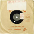 "Music Memorabilia:Recordings, Buddy Holly ""I Guess I Was Just A Fool"" 45 Demo Acetate (1958?).Very intriguing demo, since the song was never released as ..."