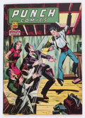 Golden Age (1938-1955):Crime, Punch Comics #18 (Chesler, 1946) Condition: GD/VG....