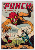 Golden Age (1938-1955):Superhero, Punch Comics #21 (Chesler, 1947) Condition: GD/VG....
