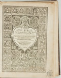 Books:Religion & Theology, [Religion & Theology]. The Holy Bible Containing the OldTestament and the New. London: Printed by Robert Barker...