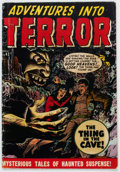 Golden Age (1938-1955):Horror, Adventures Into Terror #43 (#1) (Atlas, 1950) Condition: GD/VG....