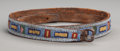American Indian Art:Beadwork and Quillwork, A Crow Beaded Leather Belt ...