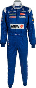 Movie/TV Memorabilia:Costumes, A 2000 Jean Alesi Formula 1 Fire Suit. ...
