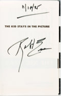 Books:Biography & Memoir, Robert Evans. SIGNED. The Kid Stays in the Picture. NewYork: Hyperion, [1994]....