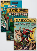 Golden Age (1938-1955):Classics Illustrated, Classic Comics/Classics Illustrated Group of 4 (Gilberton,1944-48).... (Total: 4 Comic Books)