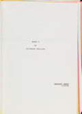 """Movie/TV Memorabilia:Documents, A Typed and Annotated Script from """"Rocky V.""""..."""