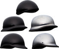"Movie/TV Memorabilia:Costumes, A Group of Motorcycle Helmets from ""The Expendables.""..."